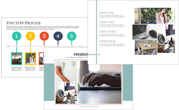 Design en ligne - Documents de business