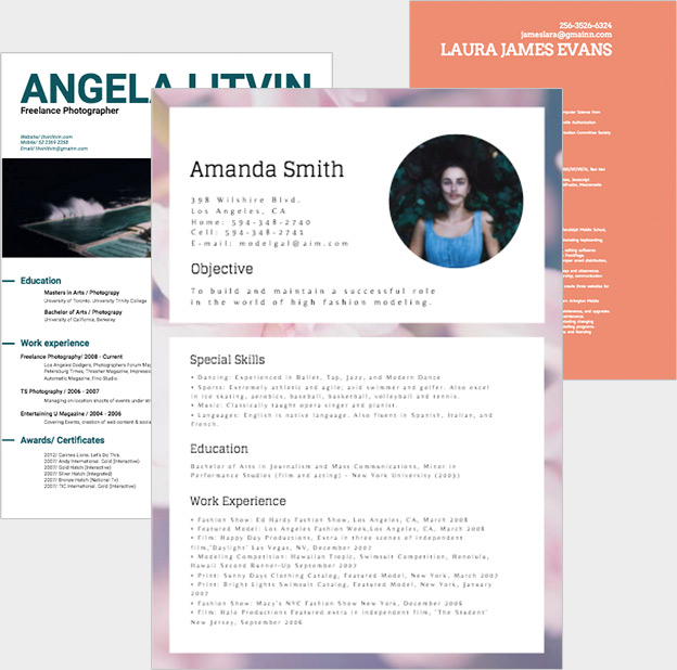 Design Online – Free Resume Templates