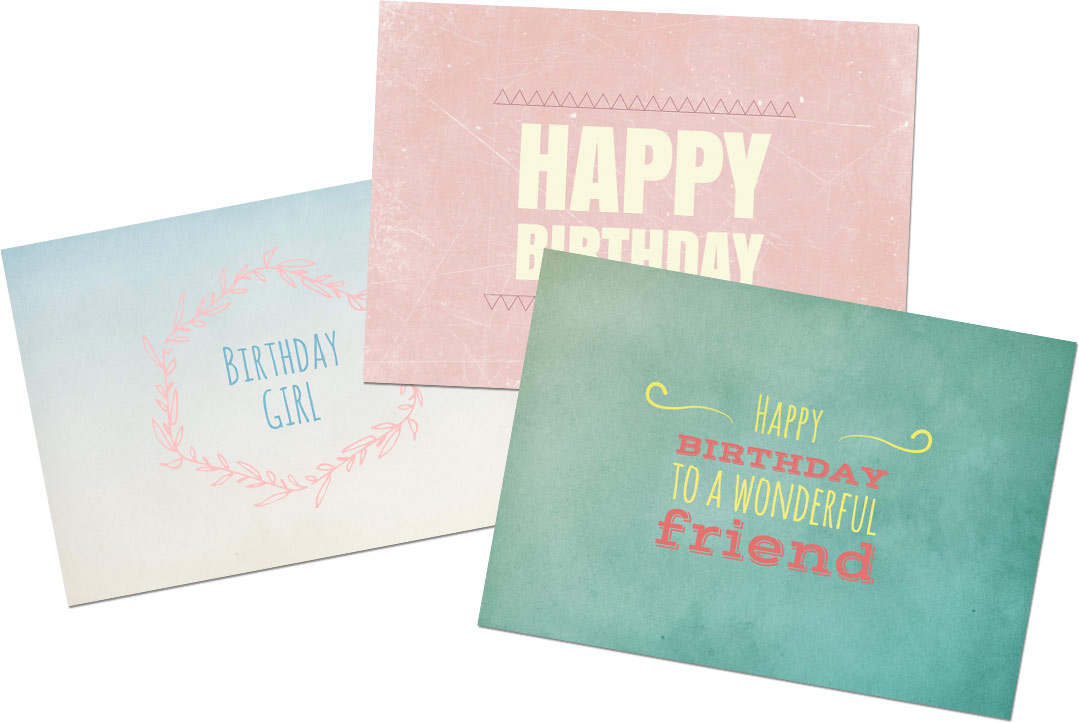 Design Online – Printable Cards