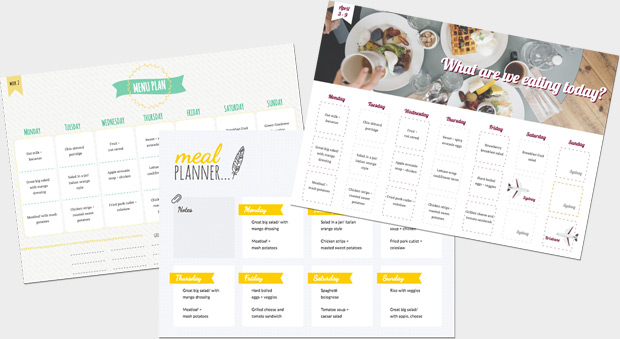Design Online – Weekly Planner Maker