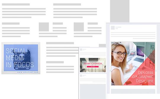 Créez en ligne avec Desygner – Publicités internet
